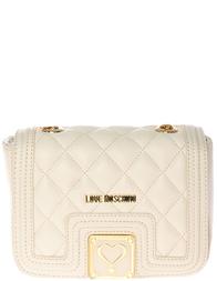 Женская сумка Love Moschino 4013_beige