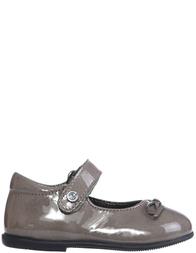 Детские туфли для девочек Naturino 4524-vernice-topo_silver