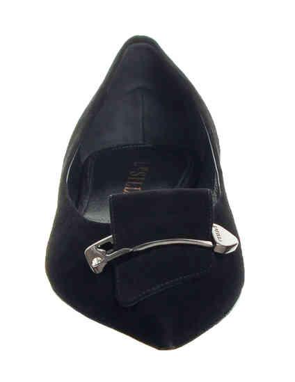 женские черные Балетки Le Silla 90102-black - фото-6