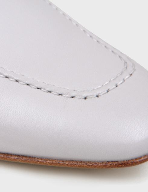 женские серые кожаные Туфли Pertini 201W16758D2 - фото-5