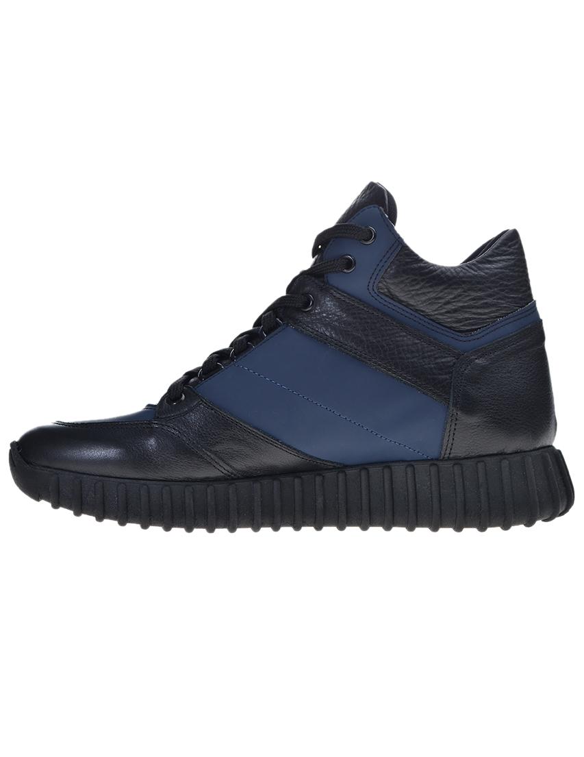 Фото 3 - мужские кроссовки  цвет синий, черный