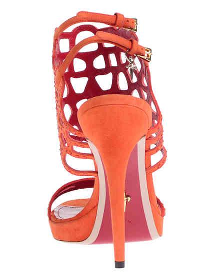 оранжевые Босоножки Cesare Paciotti 430610_orange размер - 40