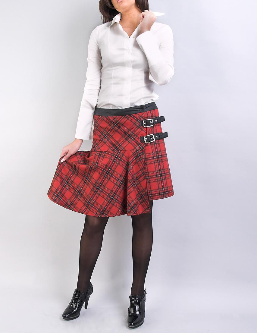 юбки шотландки женские фото веерная пальма