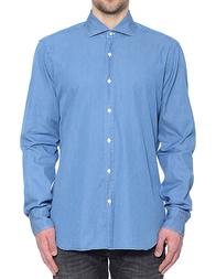 Мужская рубашка BARBA NAPOLI K1U13H515901U_blue