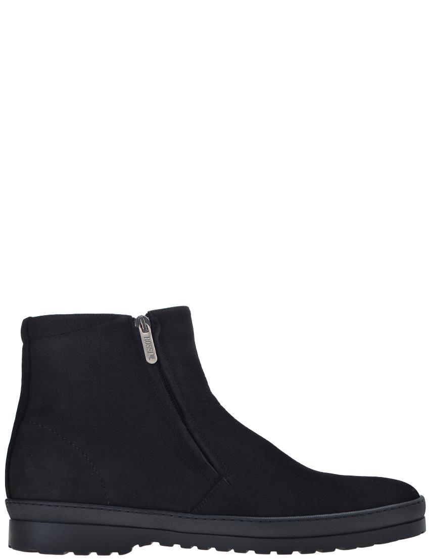 Фото - мужские ботинки и полуботинки  черного цвета