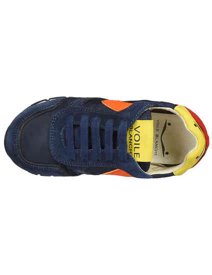 Voile Blanche Liam-Junior-navy-arancio_blue