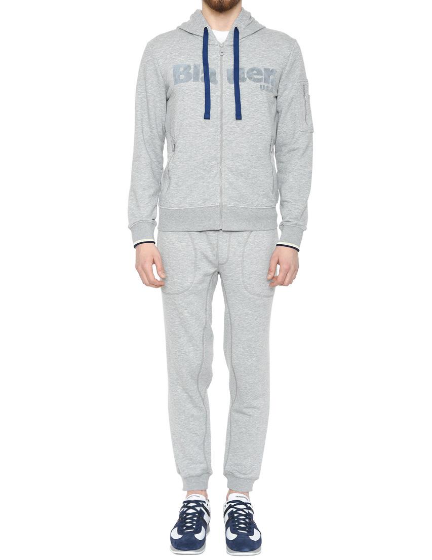 Купить Спортивный костюм, BLAUER, Серый, 100%Хлопок, Весна-Лето