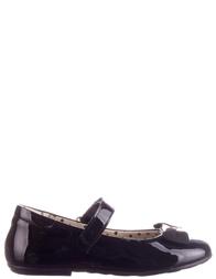 Детские туфли для девочек MOSCHINO 25413-black