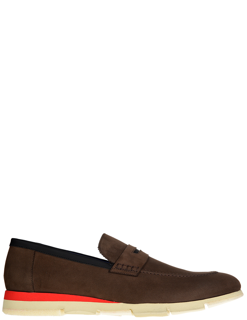 Мужские лоферы Alberto Guardiani S76032B_brown