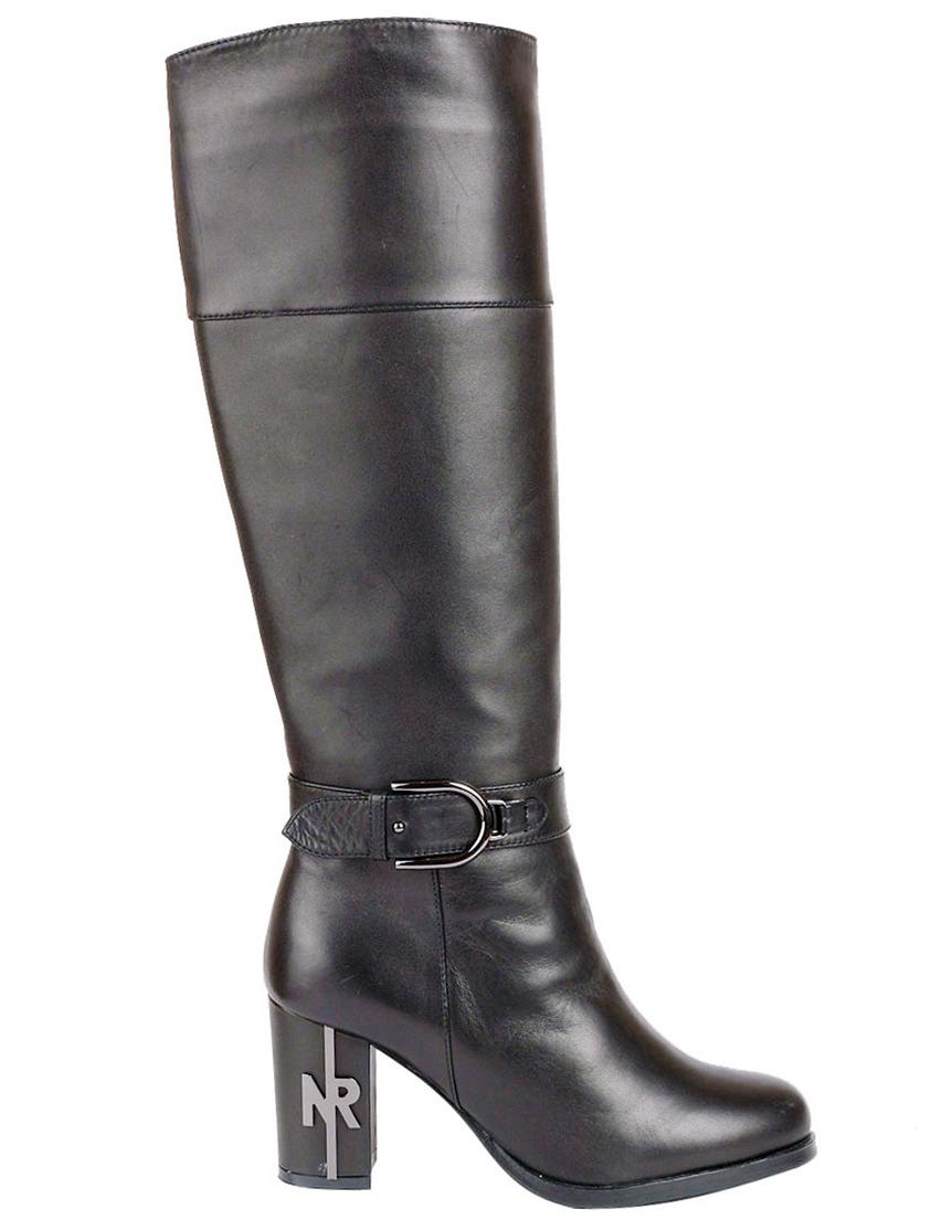 Купить Сапоги на каблуке, NOCTURNE ROSE GF, Черный, Осень-Зима