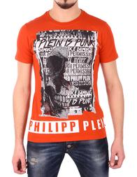 Мужская футболка PHILIPP PLEIN 342575_red