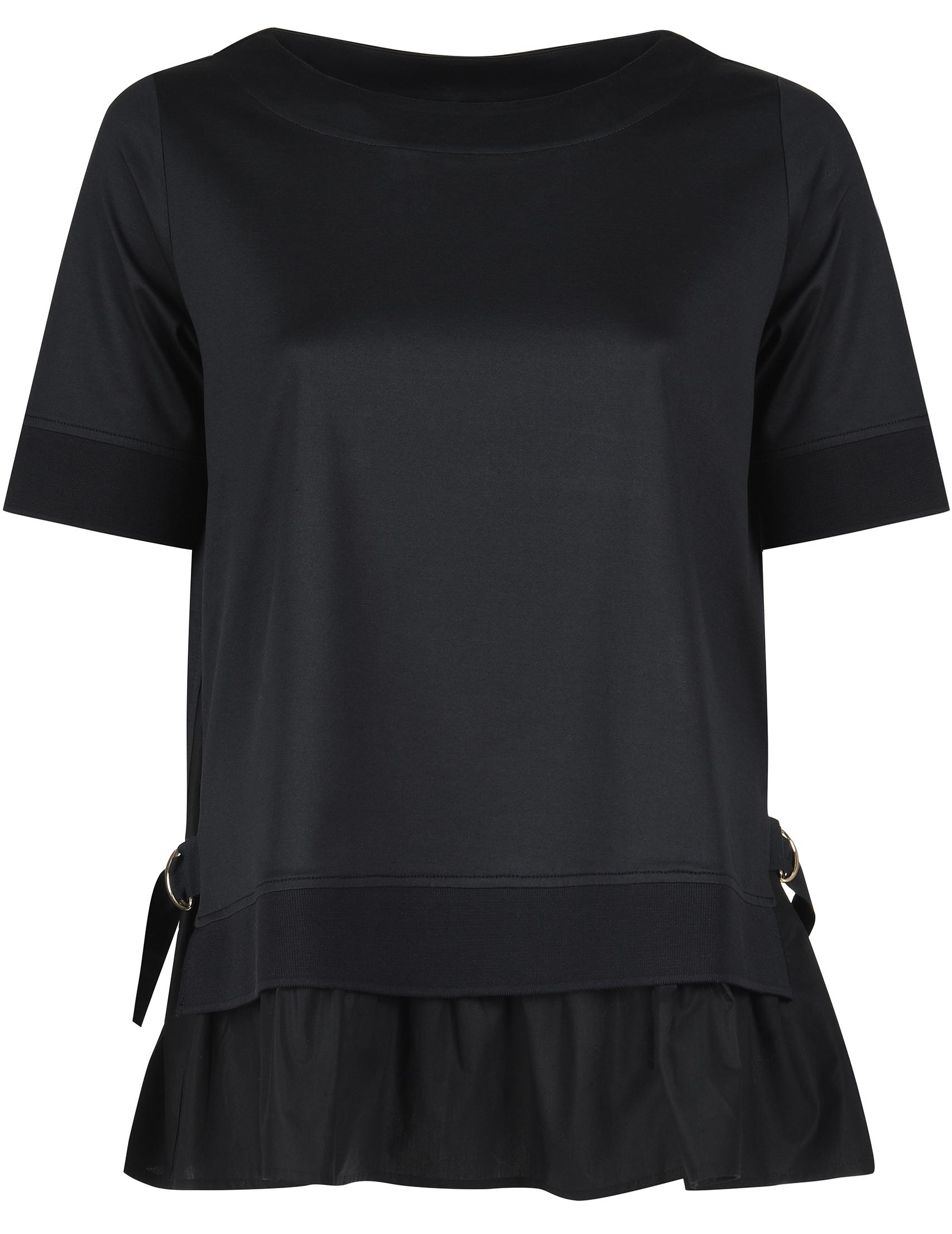 Купить Блуза, BOGNER, Черный, 100%Хлопок, Весна-Лето