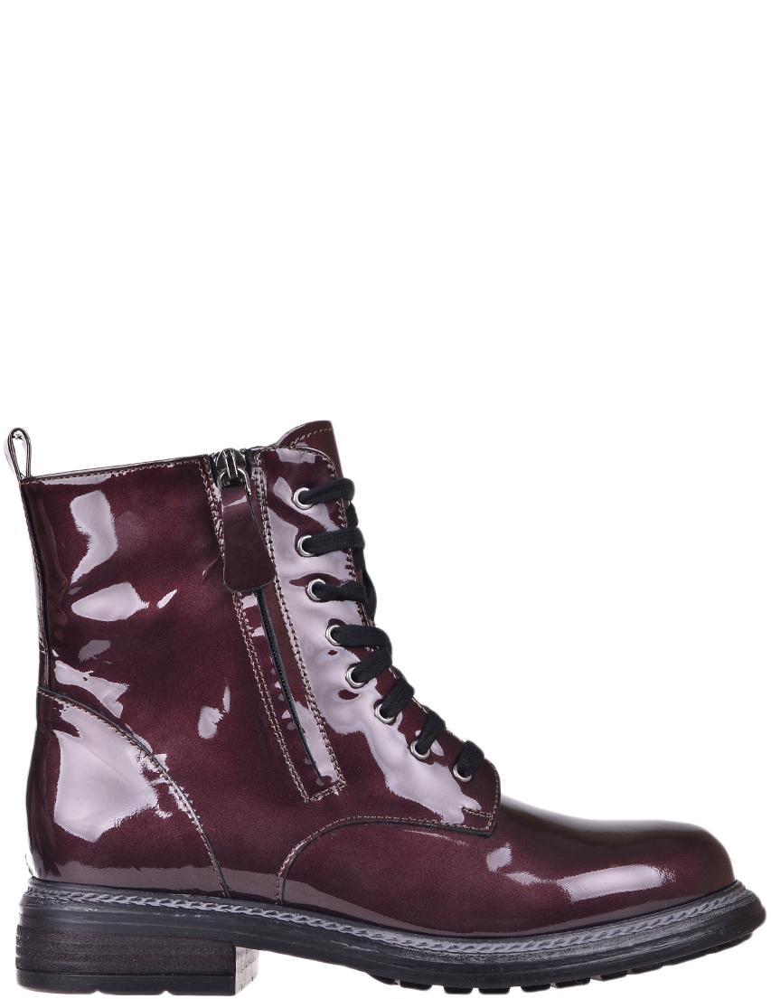 Купить Ботинки, ALBANO, Бордовый, Осень-Зима