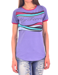 Женская футболка GF FERRE 70XF771282015_purple