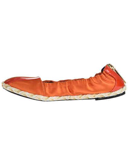 женские оранжевые текстильные Балетки Giorgio Fabiani G1246_orange - фото-5