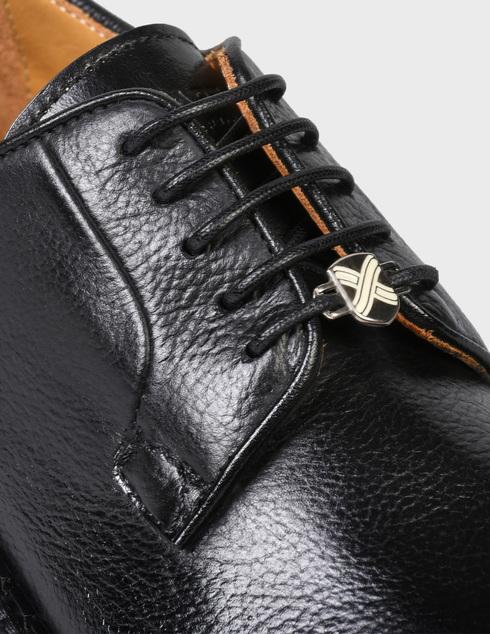 мужские черные кожаные Дерби Brimarts 314900 - фото-5
