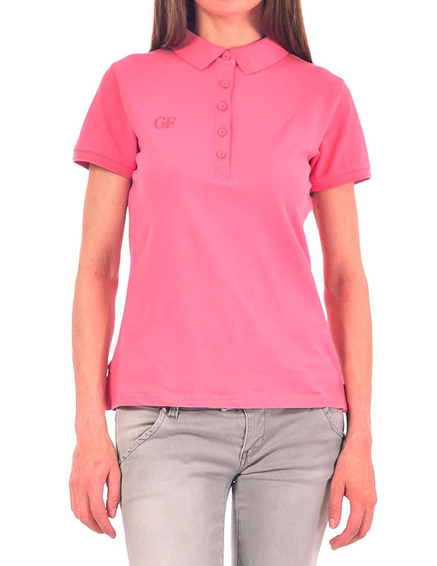 Женское поло GF FERRE POD42016_pink