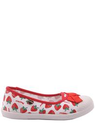 Детские кеды для девочек MOSCHINO 25308-strawberry