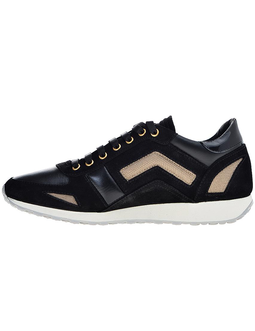 Фото 3 - мужские кроссовки  черного цвета