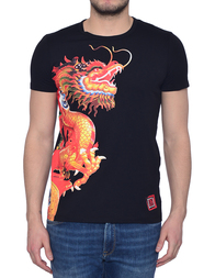Мужская футболка BIKKEMBERGS 700K-C74_black