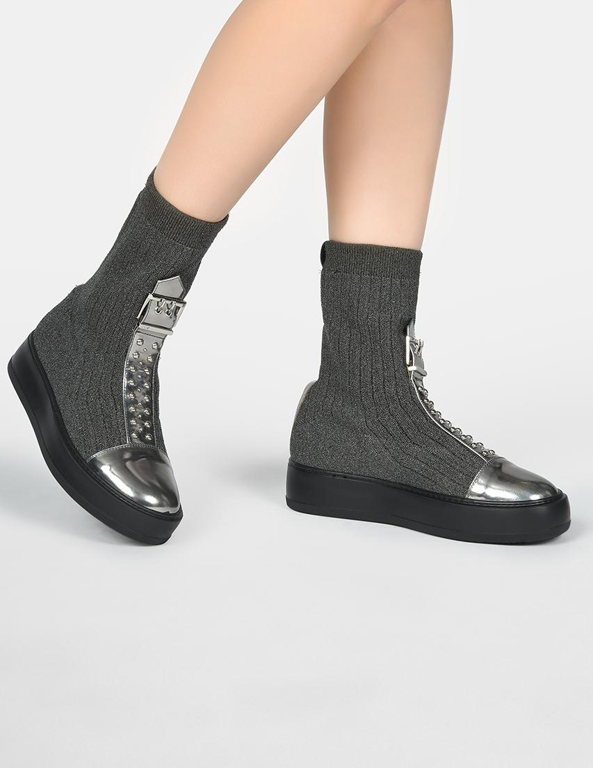 Женские ботинки 4US Cesare Paciotti D10_gray