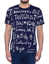 Мужская футболка TRUSSARDI JEANS AGR-52T5153-48