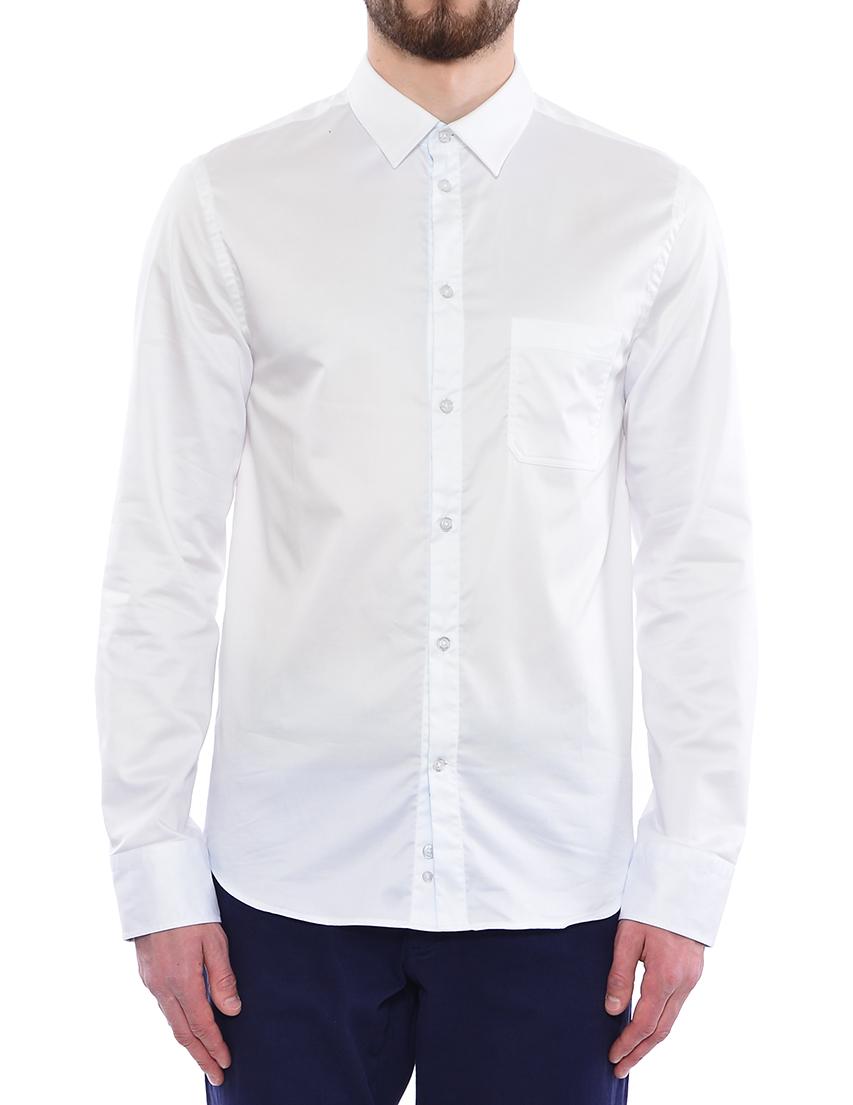 Купить Рубашка, FRANKIE MORELLO, Белый, 97%Хлопок 3%Эластан, Весна-Лето