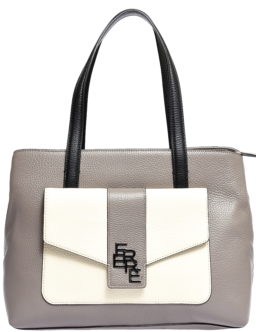 Купить Женские сумки, Сумка, FERRE COLLEZIONI, Серый, Осень-Зима