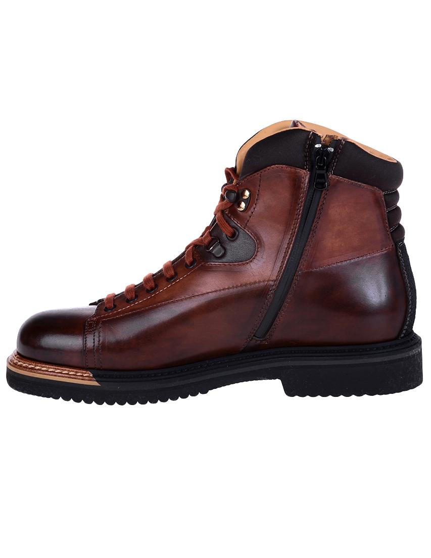 Фото 5 - мужские ботинки и полуботинки  коричневого цвета