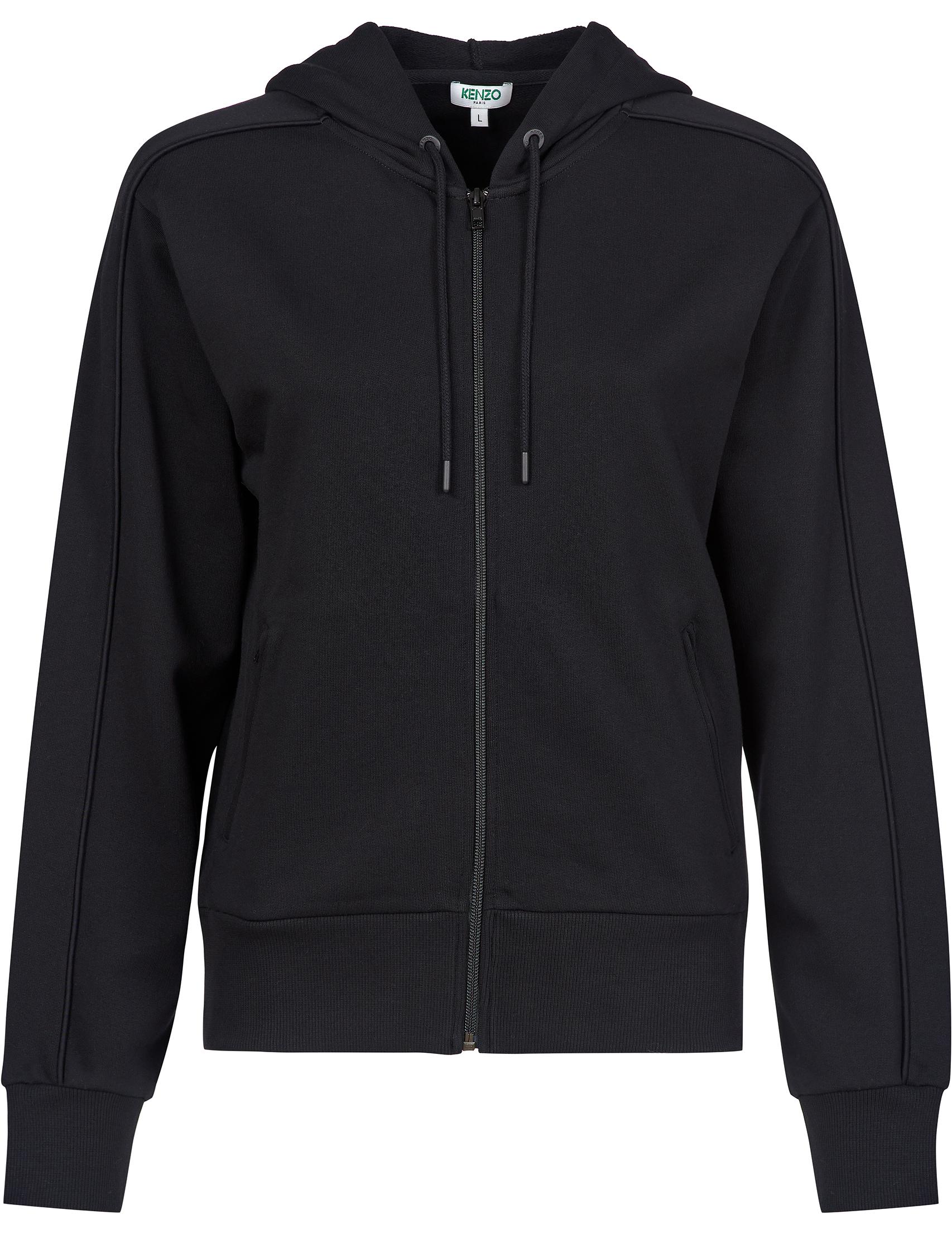 Купить Спортивные кофты, Спортивная кофта, KENZO, Черный, 100%Хлопок, Осень-Зима