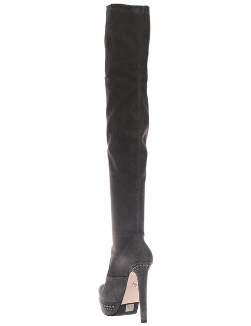 женские серые Ботфорты Le Silla 409_gray - фото-2