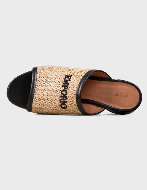 коричневые женские Шлепанцы Emporio Armani X3P712XM330-P927 5718 грн