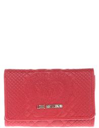 Женское кошелек LOVE MOSCHINO 5530_red