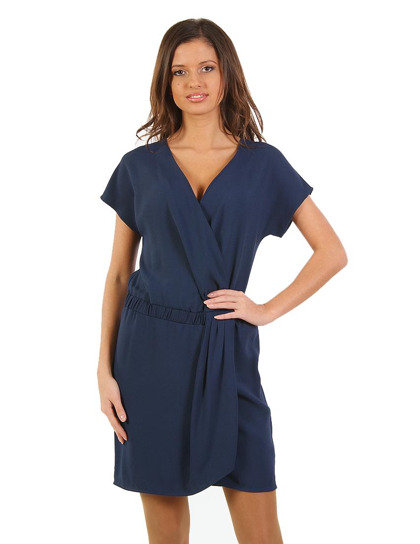 Купить Платье, PATRIZIA PEPE, Синий, 57%Акрил 43%Вискоза, Весна-Лето