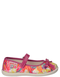Детские туфли для девочек NATURINO 8076fuxia_pink