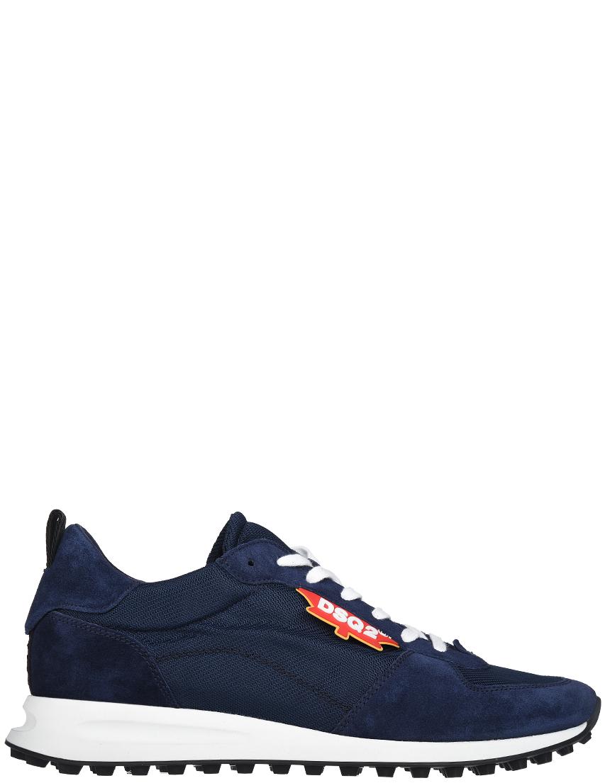 Мужские кроссовки Dsquared2 SSNM0110_blue