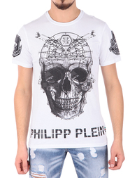 Мужская футболка PHILIPP PLEIN 341077_white