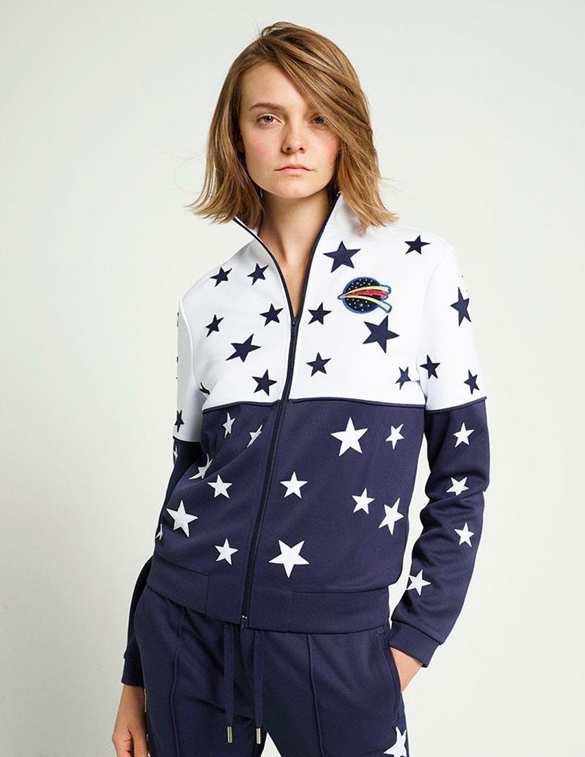 Женская спортивная кофта ZOE KARSSEN SS181125-white