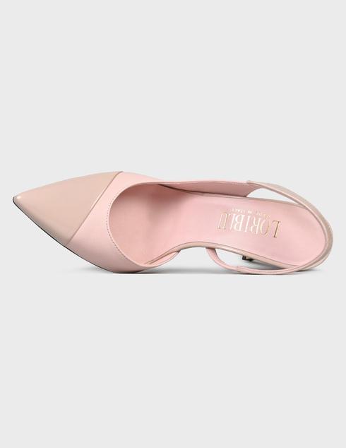 женские розовые кожаные Босоножки Loriblu 1ES1104500 - фото-5