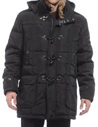 Мужская куртка RE DEL MARE 2888-black