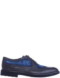 Мужские броги Bagatto 3055B_blue