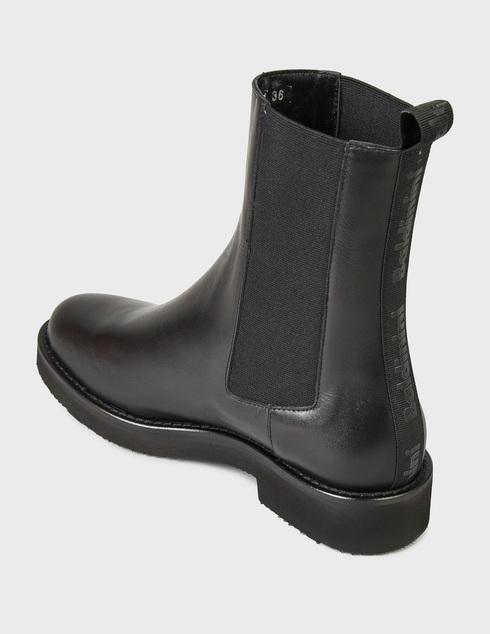 женские черные Ботинки Baldinini D2B361VIGE0000 - фото-2