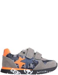 Детские кроссовки для мальчиков Naturino Parker-vl-piombo-grigio_gray