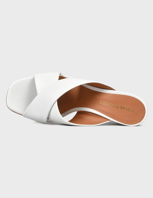 белые женские Шлепанцы Emporio Armani X3P759XF271-00001 6439 грн