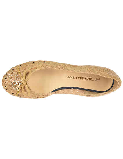 бежевые Балетки Trussardi Jeans 79S576-05_beige размер - 39