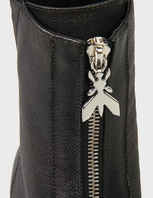 женские черные кожаные Ботинки Patrizia Pepe 2V8937ATRL-K103 - фото-5