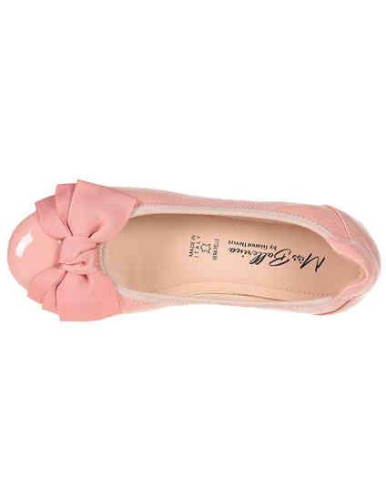 розовые Балетки Gianni Renzi 1046_pink размер - 36; 37; 38; 40