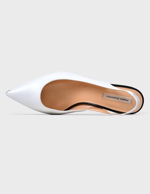 белые женские Босоножки Fabio Rusconi AGR-WINDOW-corallo-white 6999 грн