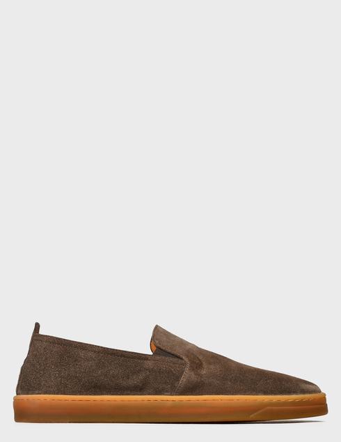 мужские коричневые Слипоны Henderson Baracco AGR-RODI.0 - фото-6