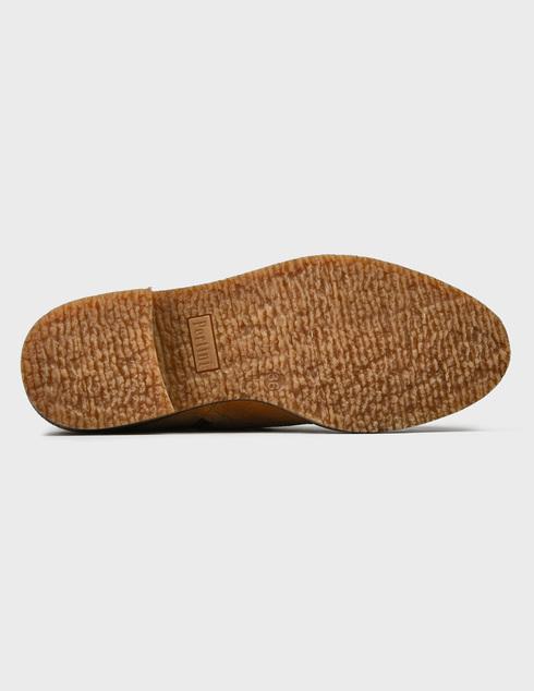 женские коричневые замшевые Ботинки Pertini 201W16595D1 - фото-5